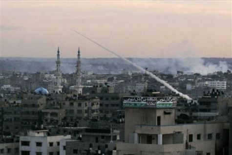 Gaza City, 8 januari 2009