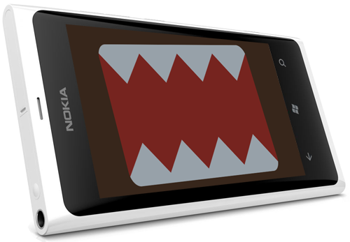 Lumia 800 is hungry!